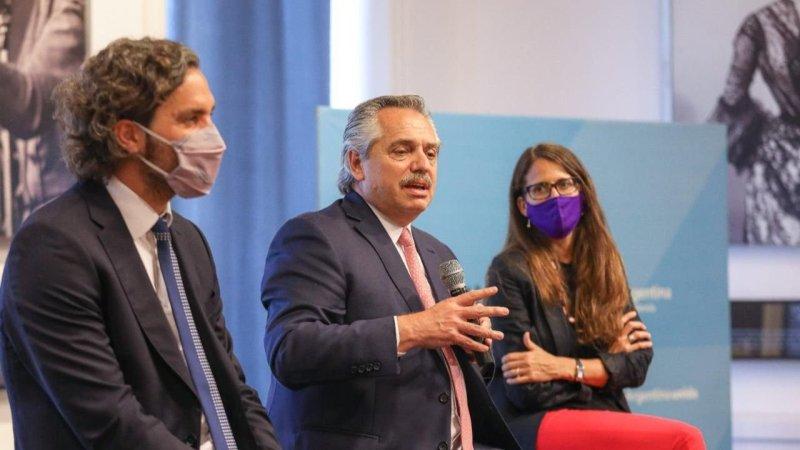 Alberto Fernández homenajeó a César Cigliutti, ex presidente de la CHA | El  Destape