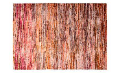 tapis louis de poortere sari uni rouge