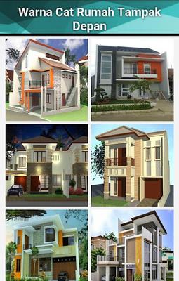 Cat Depan Rumah Minimalis : depan, rumah, minimalis, Warna, Rumah, Minimalis, Download, Android