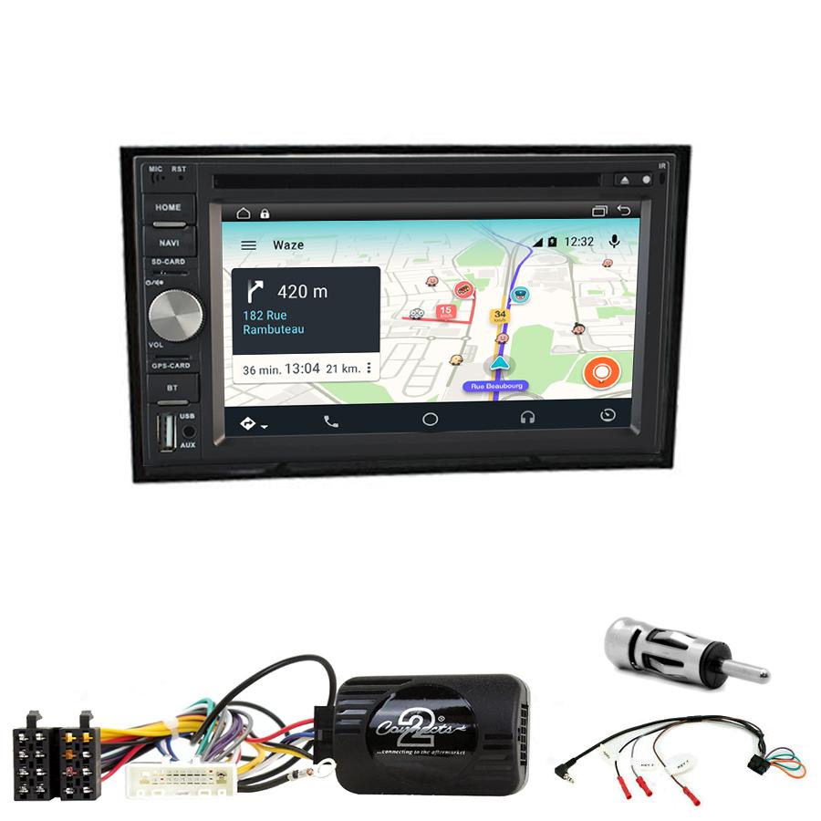 KIT Autoradio Navigation GPS et Carplay Nissan Cube 2009 à 2020 - Autoradios-GPS.com