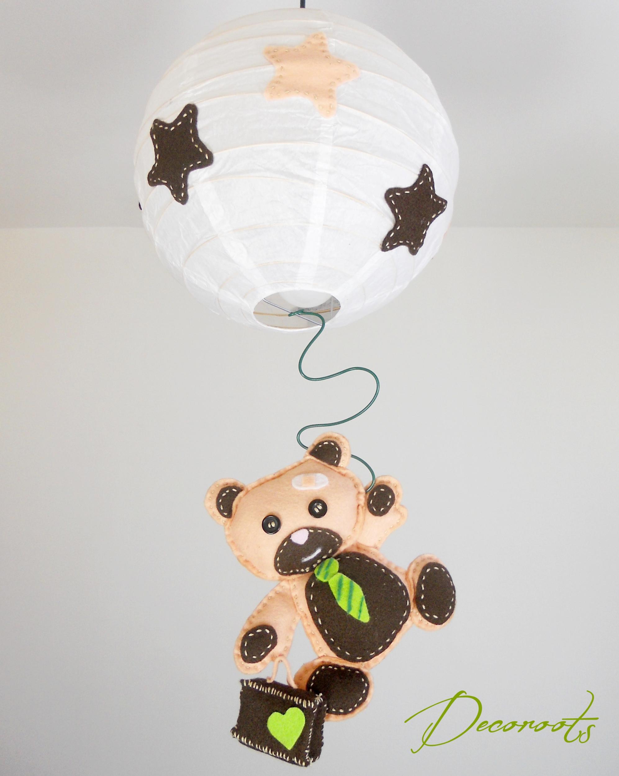 lustre suspension enfant bebe l ours tominette