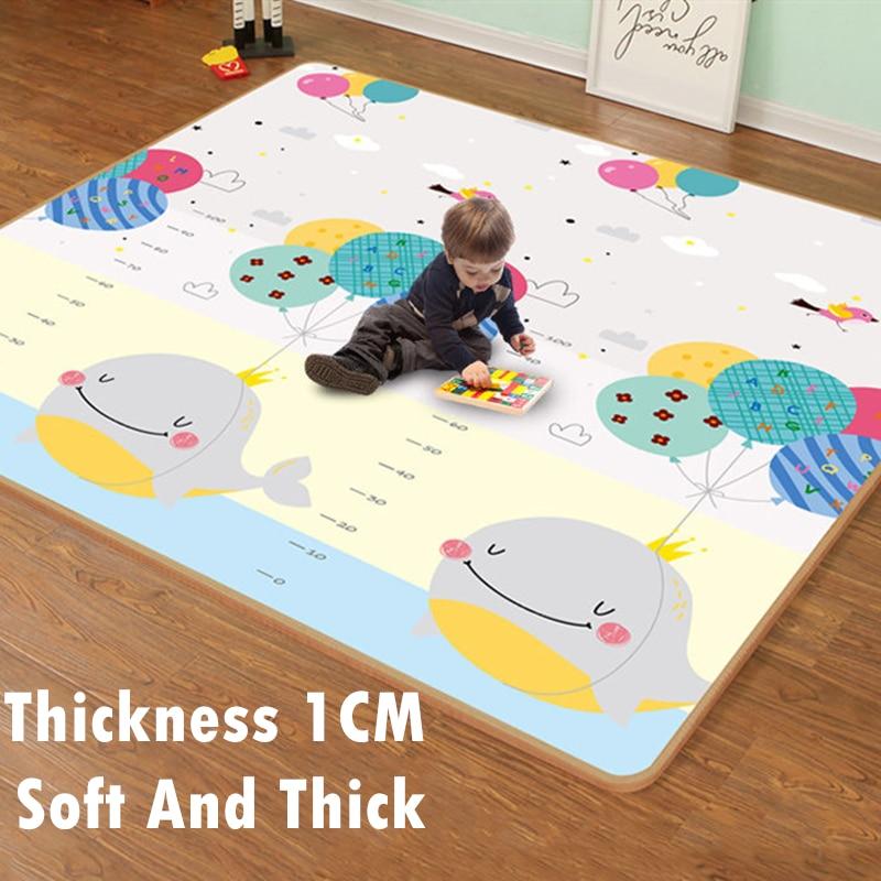 xpe tapis de jeu pour bebe epais de 1cm motif dessin anime puzzle tapis d escalade tapis de jeux pour enfants