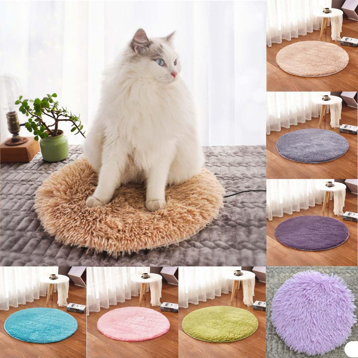 40cm animaux chien lit chauffant tapis coussin chauffant bon chat chien lit corps hiver plus chaud tapis animal en peluche electrique couverture siege