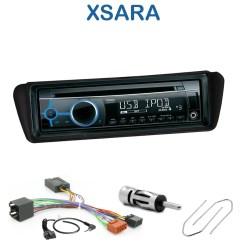 2006 Toyota Yaris Radio Wiring Diagram Diy Dual Battery System Autoradio 1-din Citroën Xsara Avec Cd/usb/mp3/bluetooth - Autoradios-gps.com