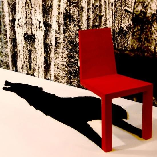 Wolf-shadow-chair par Chris Duffy