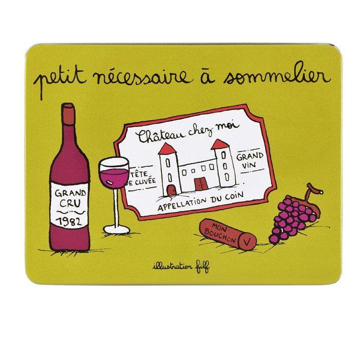 Boite à Vin - Nécessaire à sommelier  Filf : 12,50€