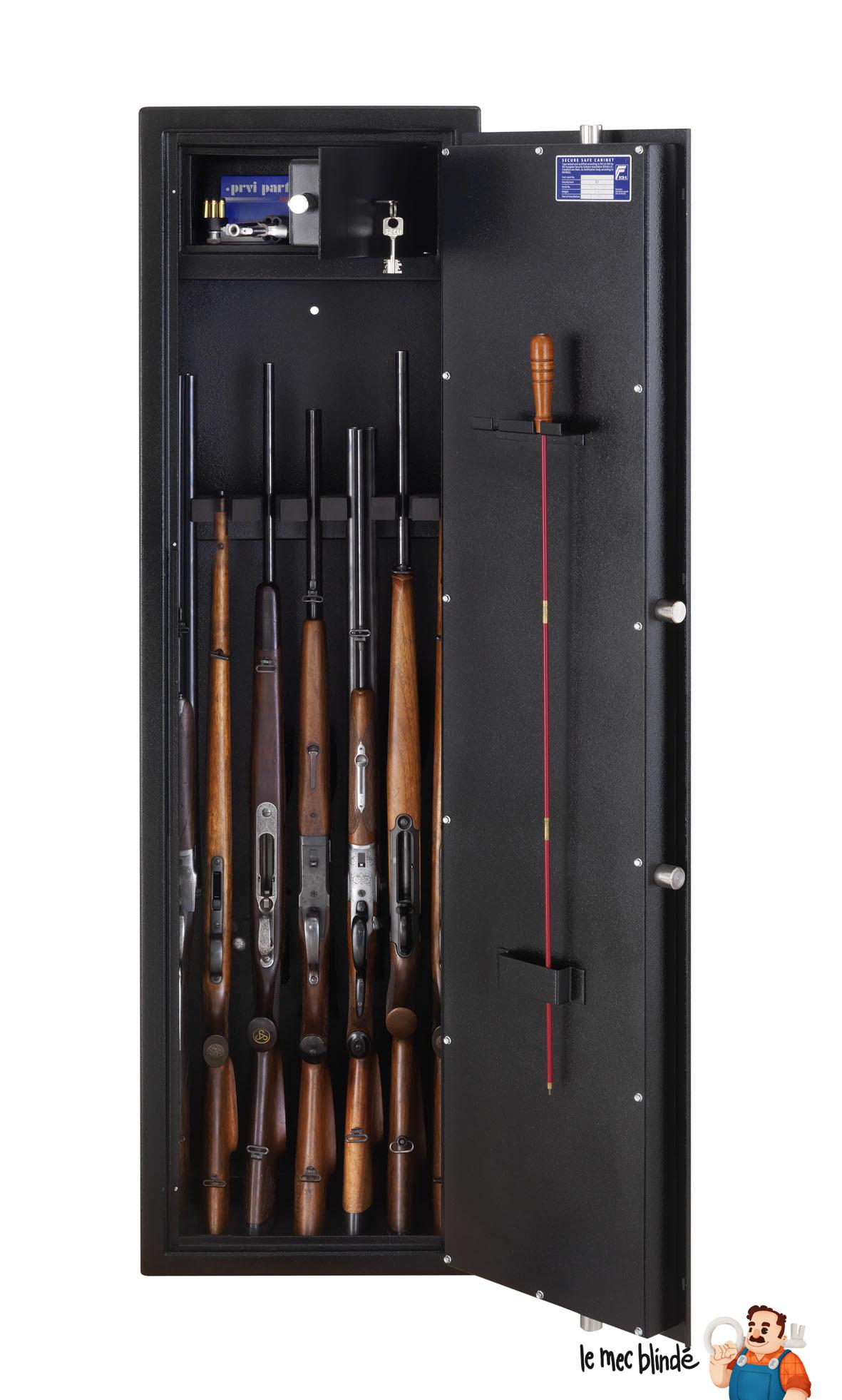 Armoire Fusils Blinde BURG WCHTER Ranger R S17E