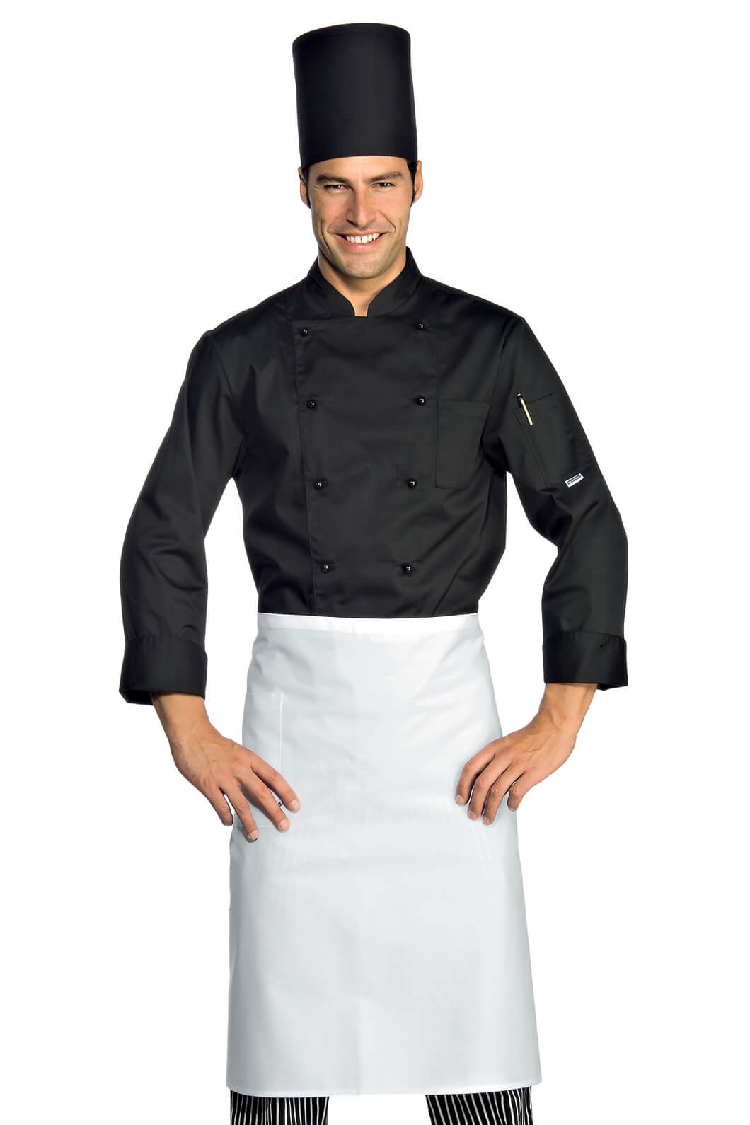 Veste De Cuisine Noir Pas Cher