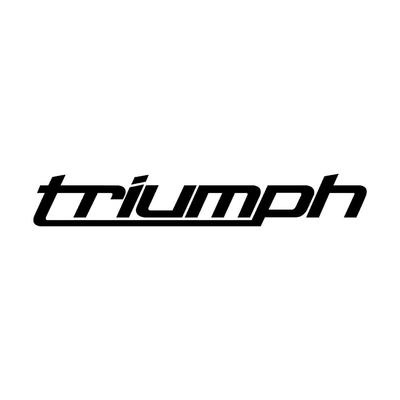 Stickers Triumph autocollant pour votre moto