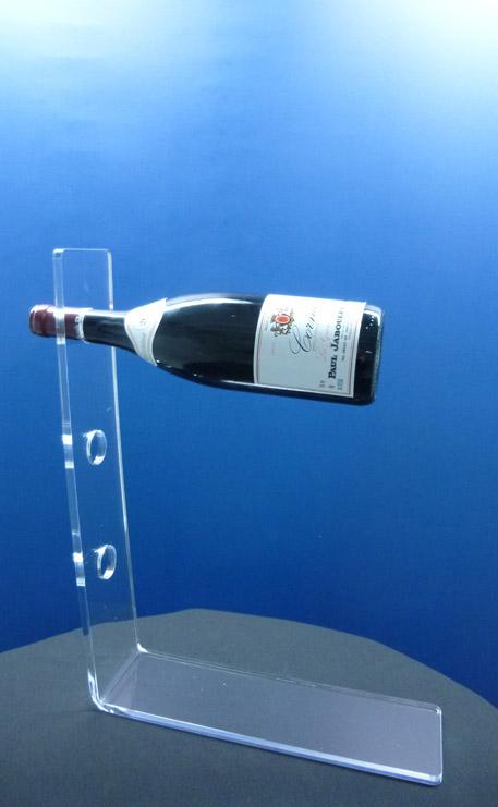 porte bouteille plexiglas de table