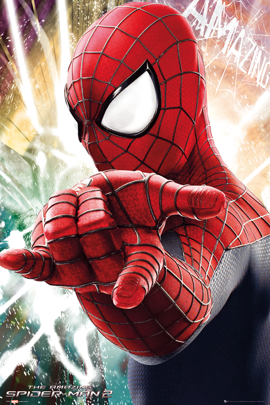 SPIDERMAN  Poster  61 x 91 cm   Aim   Spiderman  DecokidsTous leurs Hros