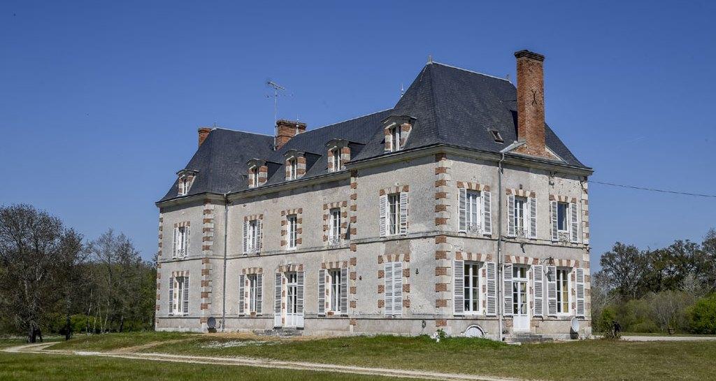 Château de la Breteche dans le Loiret