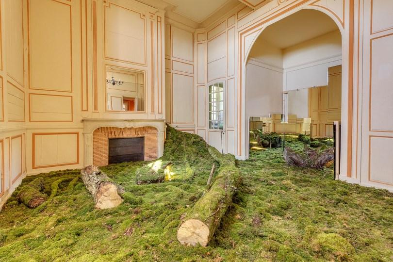 découvrir le patrimoine historique de la YONNE au chateau du fey lors d'une exposition d'art contemporain