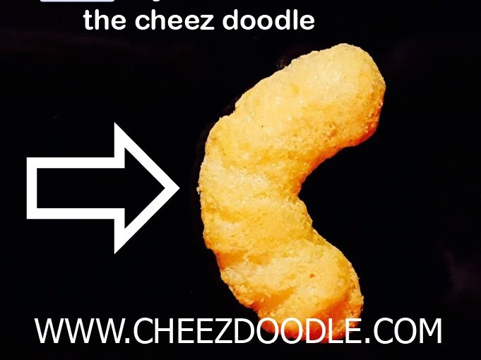 Like if you can see the cheez doodle