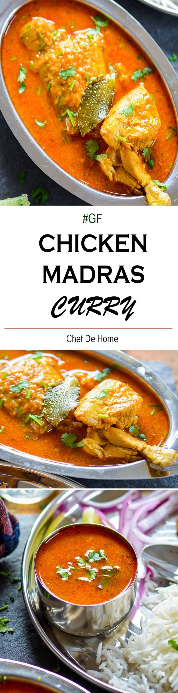 Indian Chicken Madras Curry Recipe | ChefDeHome.com