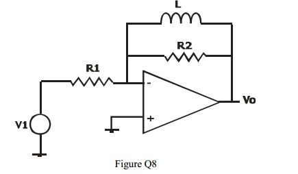 Figure Shows The Schematic Of A High Pass Filter