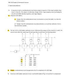 ens 220 chapter 4 homework exercise advanced problems 1 a majority circuit is a  [ 791 x 1024 Pixel ]