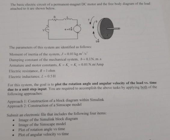 Permanent Magnet Dc Motor Equivalent Circuit Diagram