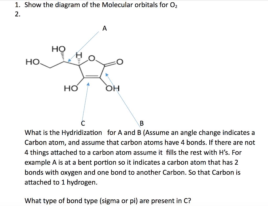 molecular orbital diagram of oh guitar pickup wiring diagrams dimarzio solved 1 show the orbitals for o2 2 ho
