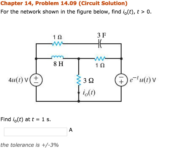 Solved: Chapter 14, Problem 14.07 Use Laplace Transforms T