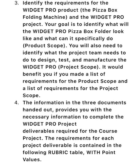 Solved: Prepare All The Deliverables Accordingly: 1) Proje
