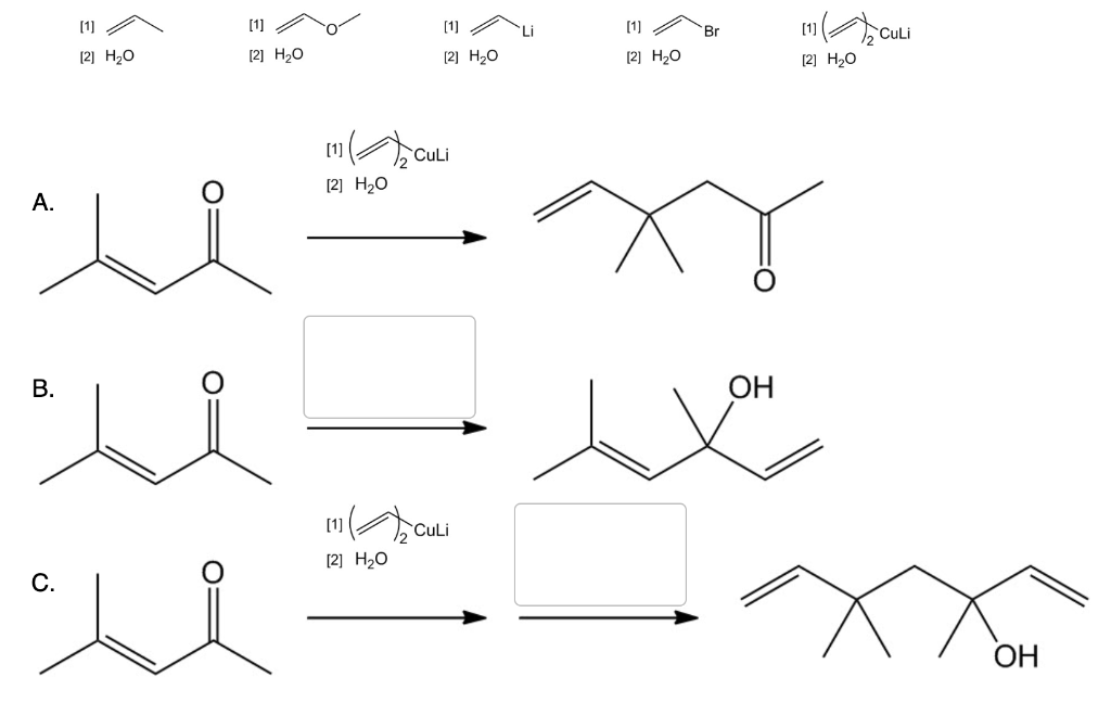 Solved: Determine The Reagents Required To Convert (CH3)2C