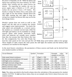 question if the question asks you to draw a circuit diagram then draw the circuit diagram if the question asks you to calculate certain values  [ 884 x 1024 Pixel ]