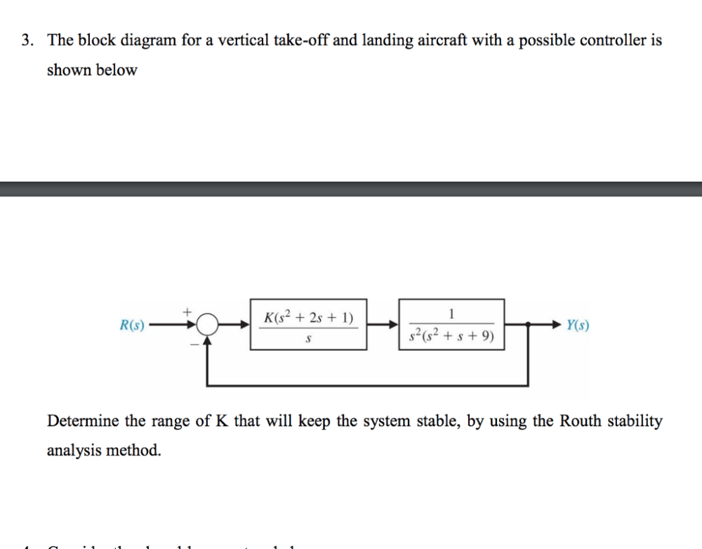medium resolution of the block diagram for a vertical take off and landing aircraft with a possible controller
