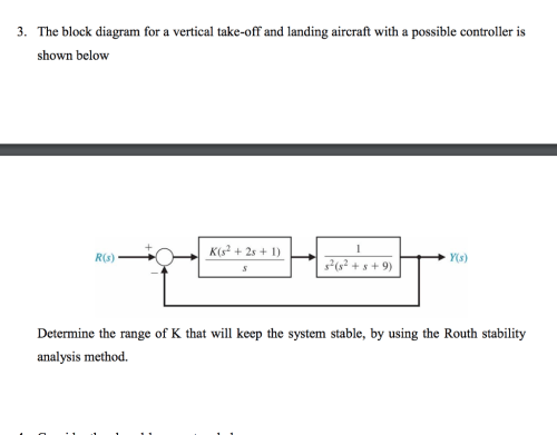 small resolution of the block diagram for a vertical take off and landing aircraft with a possible controller
