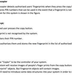 a smart photocopier a smart photocopier detects authorised users fingerprints when they press the copy button [ 1024 x 772 Pixel ]