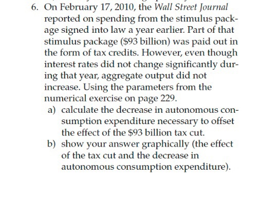 6. On February 17, 2010, The Wall Street Journal R
