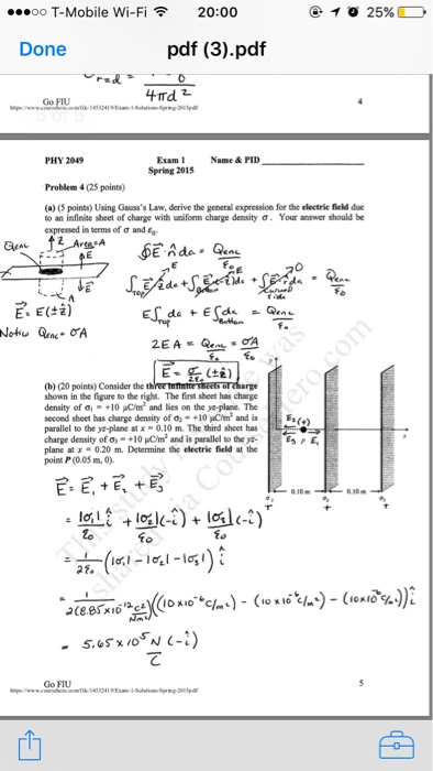 This Is A Physics Worksheet With Solutions. Can So