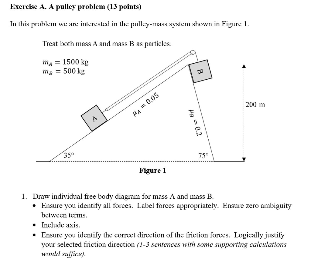 hight resolution of exercise a a pullev problem 13 points in this problem we are interested