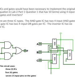 information how many ics and gates would have been necessary to implement the original logic equation [ 1024 x 769 Pixel ]