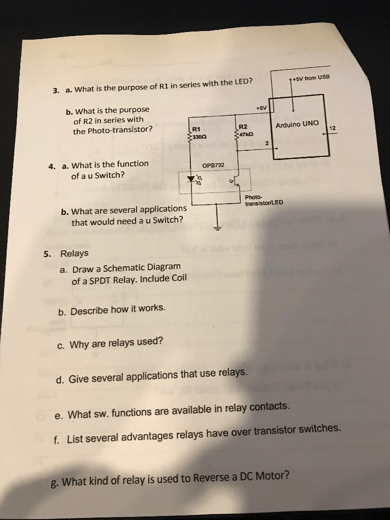 medium resolution of 3 a what is the purpose of r1 in series with the led
