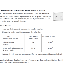 question 2 4 household electric power and alternative energy systems a a 240 v power [ 1024 x 779 Pixel ]