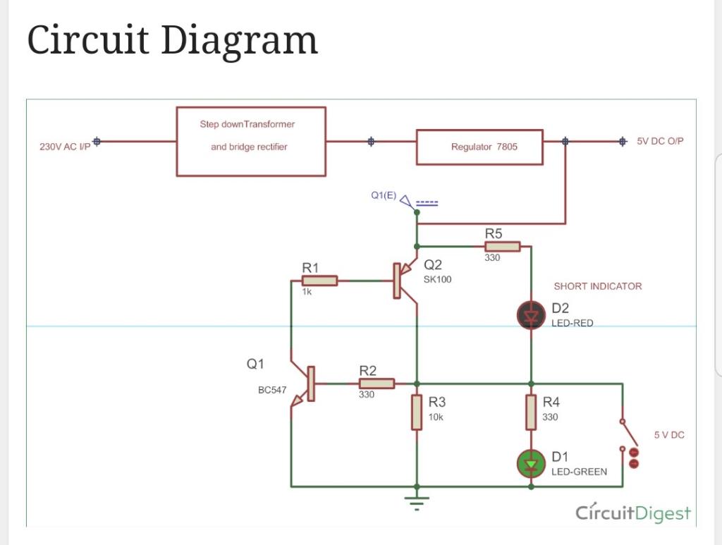 hight resolution of circuit diagram step down transformer 5v dc o p regulator 7805 230v ac vp and