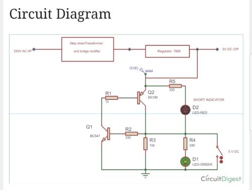 small resolution of circuit diagram step down transformer 5v dc o p regulator 7805 230v ac vp and