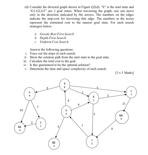 small resolution of  d consider the directed graph shown in figure q2 d s
