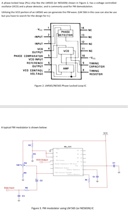 Using MultiSim, Design An FM Modulator And Demodul