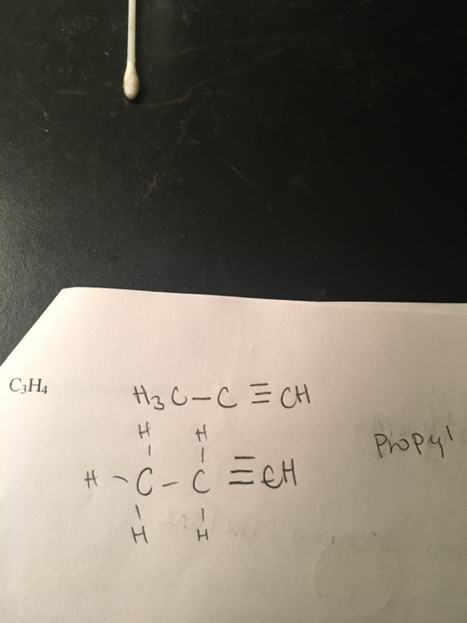 C3h4 : Solved:, Expanded, Structure, (Alkene, Alkyne..., Chegg.com