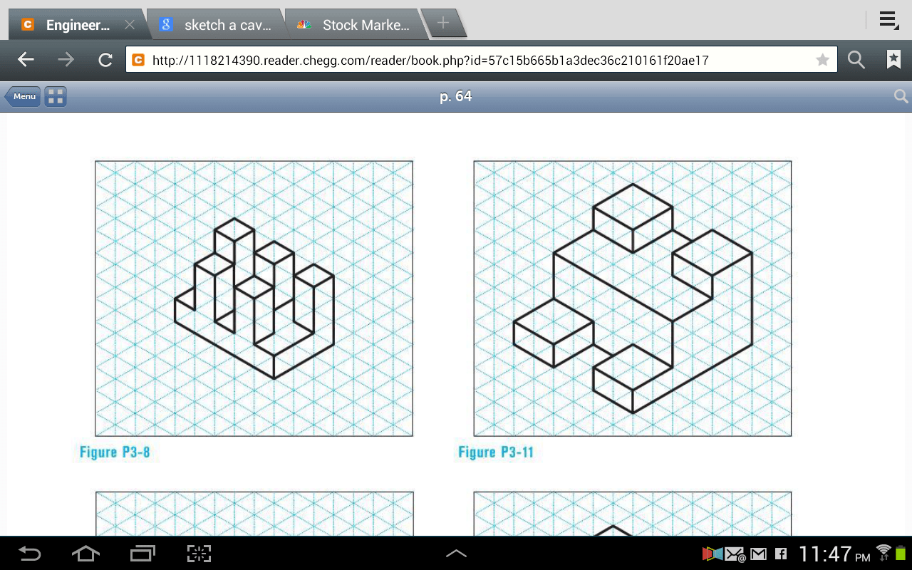 Given The Isometric View Of The Cut Block Objects