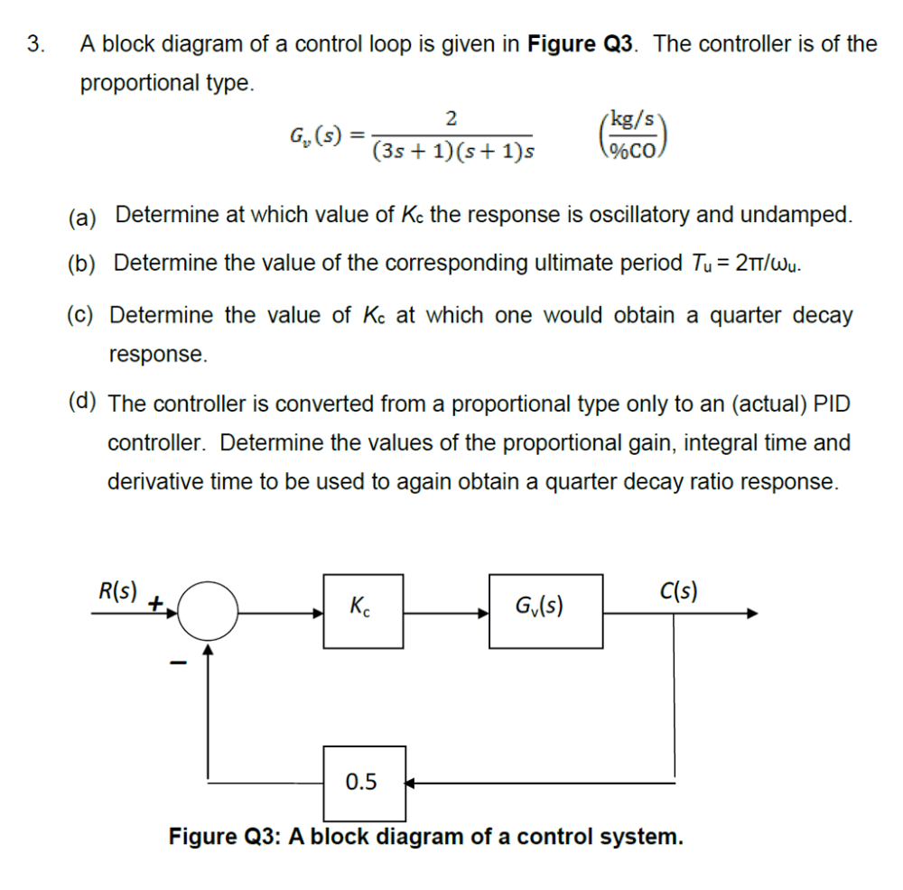 medium resolution of a block diagram of a control loop is given in figure q3 the