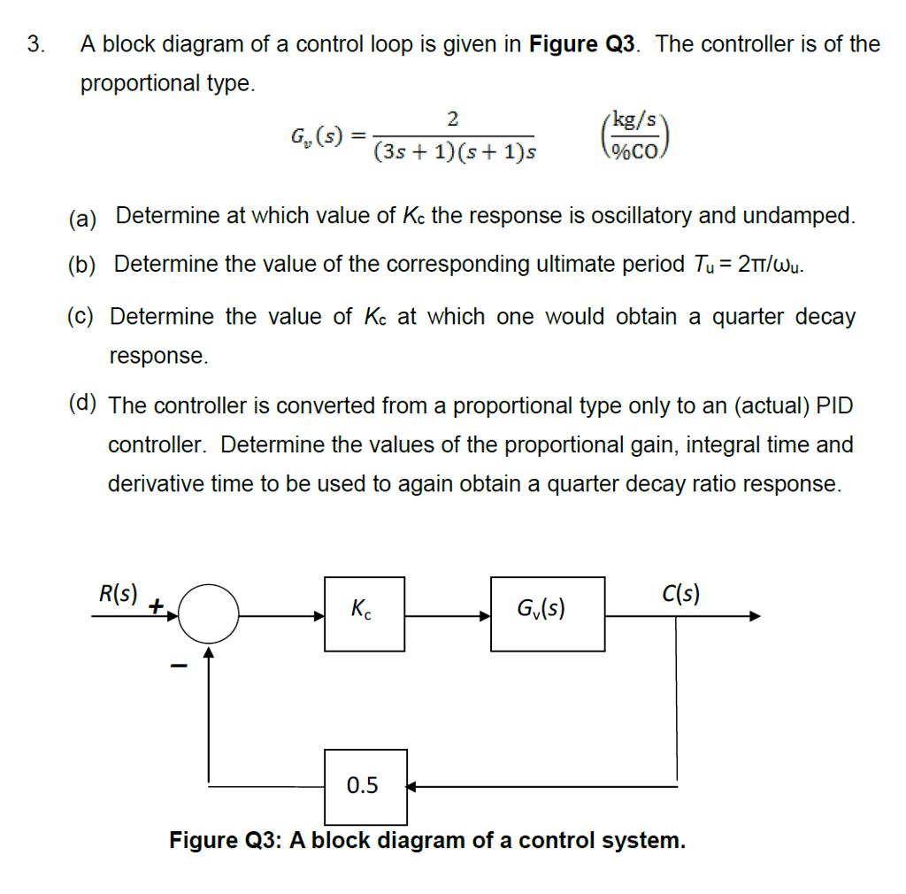 hight resolution of a block diagram of a control loop is given in figure q3 the