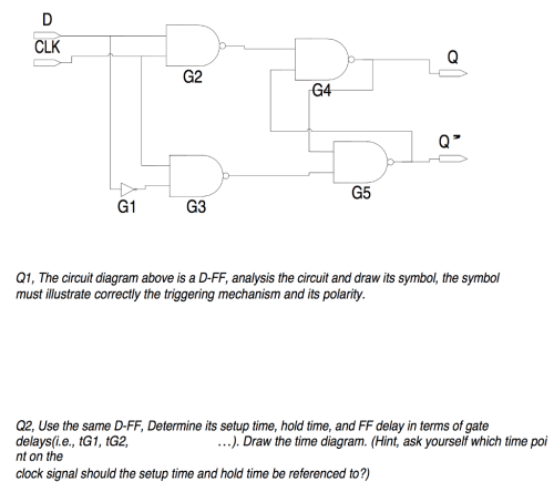 small resolution of clk g2 g4 g5 g1 g3 q1 the circuit diagram above is a d