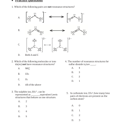 1 which of the following pairs are not resonance structures  [ 768 x 1024 Pixel ]