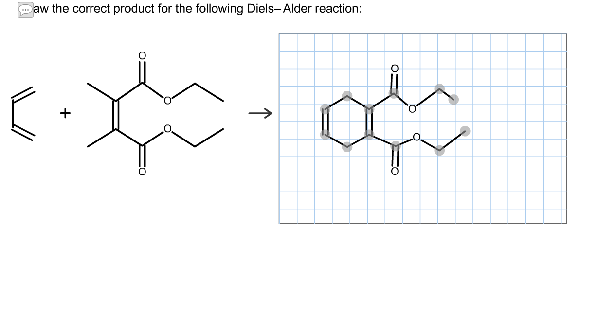 Draw The Correct Product For The Following Diels-Alder