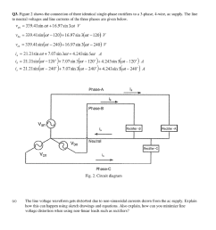 figure 2 shows the connection of three identical single phase rectifiers to a [ 944 x 1024 Pixel ]