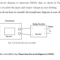 How To Draw A Circuit Diagram 1988 Jeep Wrangler Wiring 6 Represent Db101 Chip Chegg Com As Shown In Fig