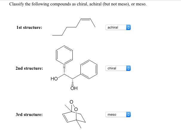 Solved: Classify The Following Compounds As Chiral, Achira